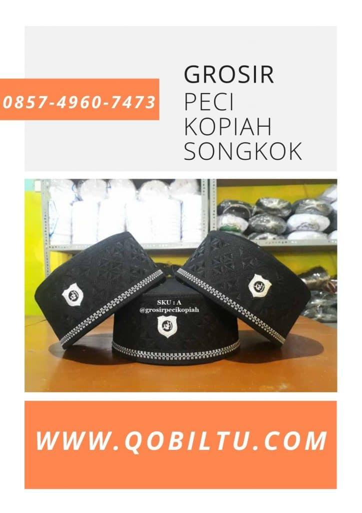 grosir Pengrajin & Grosir Peci Kopiah Songkok di Unaaha Terlengkap