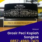 Pengrajin & Grosir Peci Kopiah Songkok di Pacitan Terlengkap